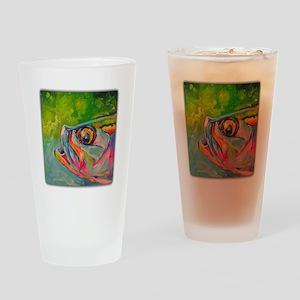 Mid Afternoon Tarpon Drinking Glass