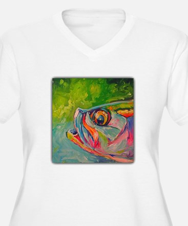 Mid Afternoon Tarpon Plus Size T-Shirt