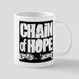 Chain of Hope Logo B&W Mug