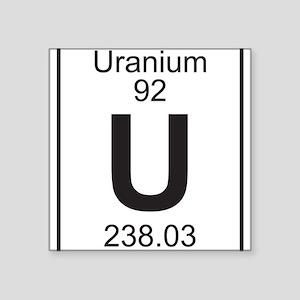 Periodic table uranium stickers cafepress element 92 u uranium full sticker urtaz Image collections