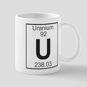 Element 92 - U (Uranium) - Full Mug