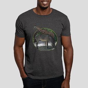 Zebra and giraffe Dark T-Shirt