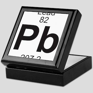 Element 82 - Pb (lead) - Full Keepsake Box