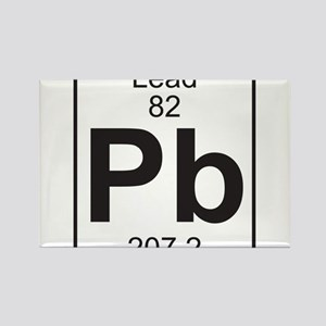 Element 82 - Pb (lead) - Full Rectangle Magnet