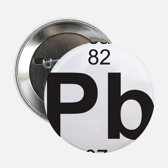 "Element 82 - Pb (lead) - Full 2.25"" Button"