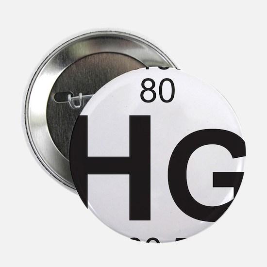 "Element 80 - Hg (mercury) - Full 2.25"" Button"