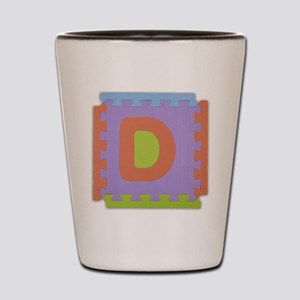 D Foam Squares Shot Glass