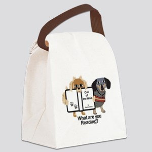 Dog Best Friends Canvas Lunch Bag
