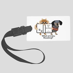 Dog Best Friends Luggage Tag