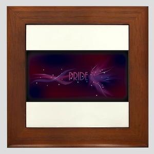Bi Pride - Lights Framed Tile