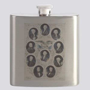 The Presidents of the United States - 1842 Flask