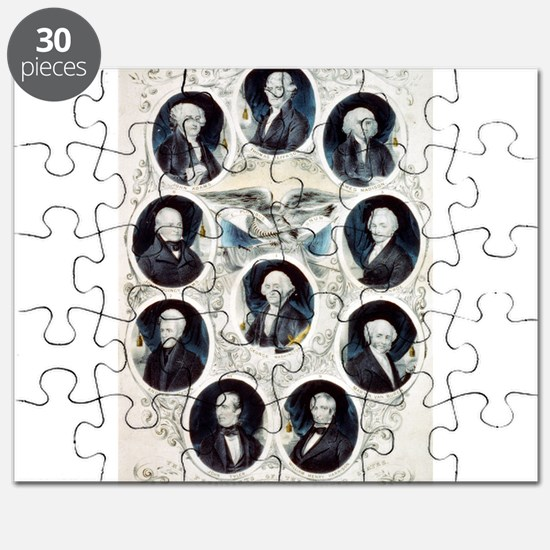 The Presidents of the United States - 1842 Puzzle