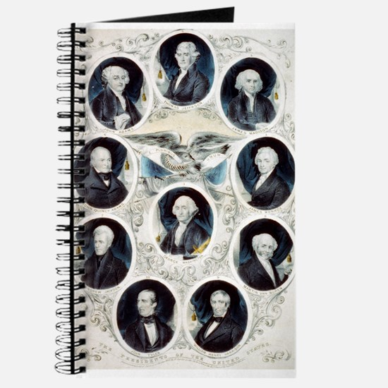 The Presidents of the United States - 1842 Journal