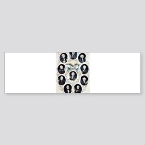 The Presidents of the United States - 1842 Sticker