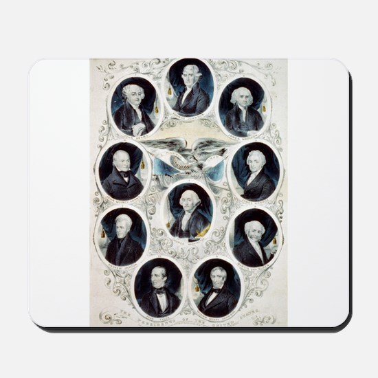 The Presidents of the United States - 1842 Mousepa