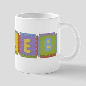Caleb Foam Squares Mug