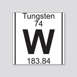 Periodic table tungsten hobbies gifts cafepress element 74 w tungsten full sticker urtaz Image collections