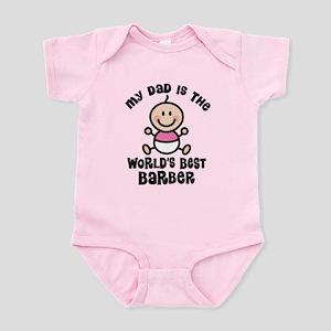 Best Barber Dad Infant Bodysuit