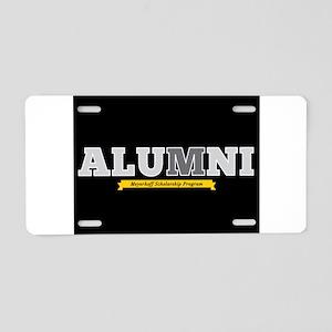 Meyerhoff Alumni Horizontal Aluminum License Plate
