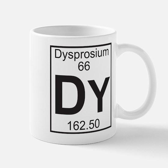 Element 66 - Dy (dysprosium) - Full Mug