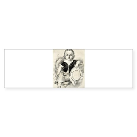 The prize boy - 1857 Sticker (Bumper 50 pk)