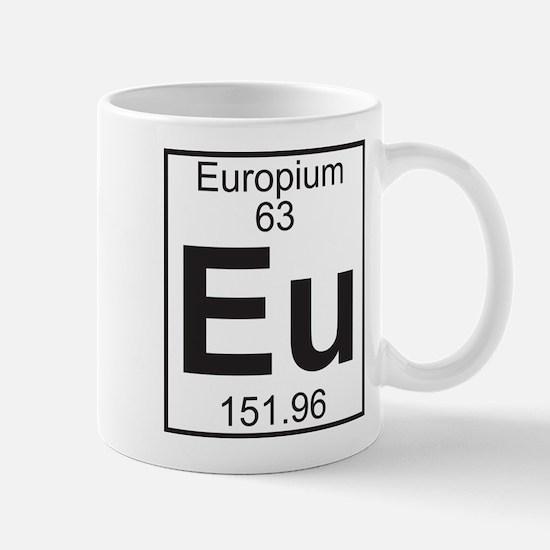 Element 63 - Eu (europium) - Full Mug