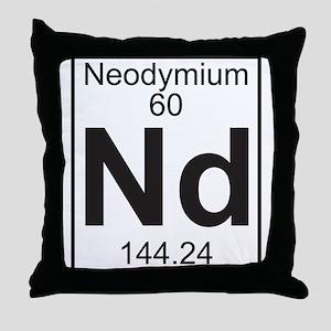 Element 060 - Nd (neodymium) - Full Throw Pillow