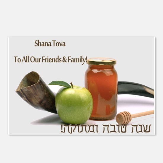 Shofar & Honey Postcards (Package of 8)