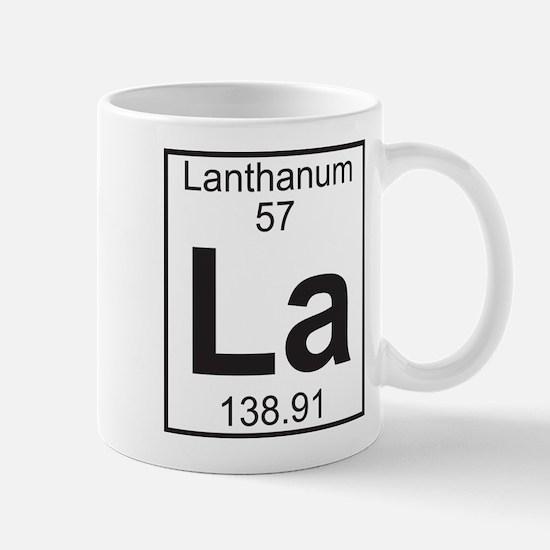 Element 057 - La (lanthanum) - Full Mug
