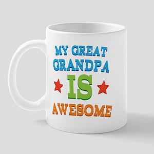 My Great Grandpa Is Awesome Mug