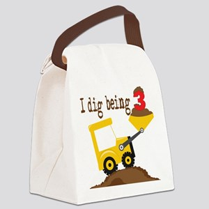 I Dig Being 3 Canvas Lunch Bag