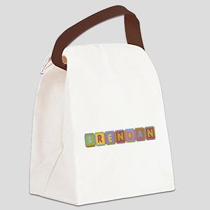 Brendan Foam Squares Canvas Lunch Bag