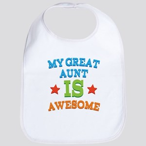 My Great Aunt Is Awesome Bib