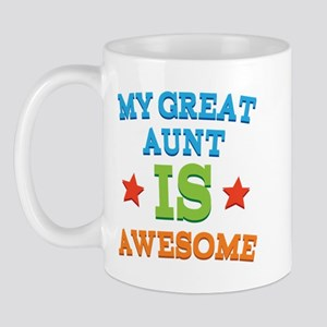 My Great Aunt Is Awesome Mug