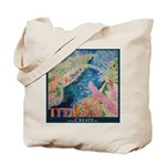 Giverny France Paris Eiffel Tower Grocery Tote Bag