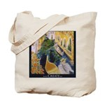Venice and Paris Grocery Tote Bag