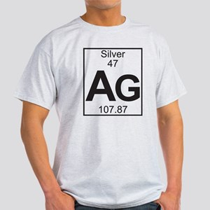 Periodic table silver t shirts cafepress element 47 ag silver full t shirt urtaz Image collections