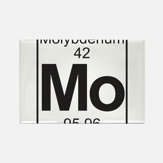 Element 42 - (molybdenum) - Full Rectangle Magnet