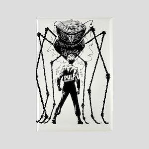 Alien Spider Rectangle Magnet