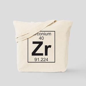 Element 40 - Zr (zirconium) - Full Tote Bag