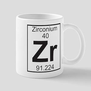 element 40 zr zirconium full mug - Periodic Table Zr