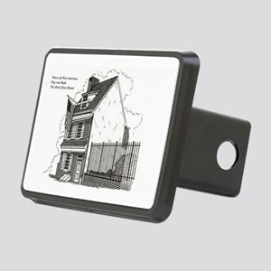 Betsy Ross House Rectangular Hitch Cover