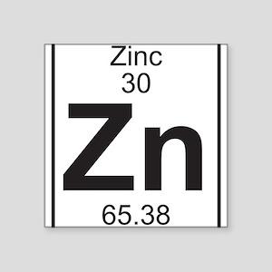 Periodic table zinc stickers cafepress element 30 zn zinc full sticker urtaz Choice Image