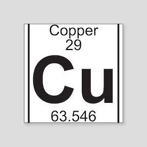 Element 29 - Cu (copper) - Full Sticker