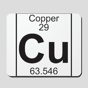 Element 29 - Cu (copper) - Full Mousepad