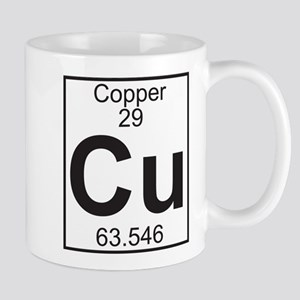 Element 29 - Cu (copper) - Full Mug