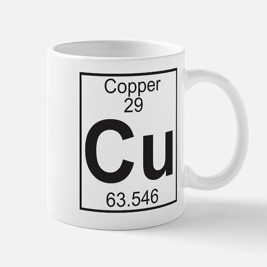 Element 29 - Cu (copper) - Full Mug