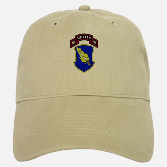 504th PIR Baseball Baseball Cap