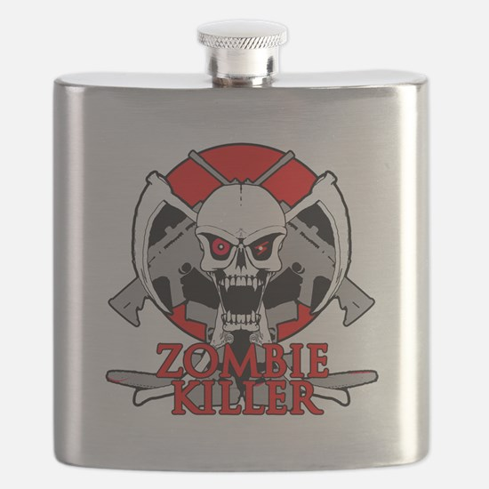 Zombie killer red Flask