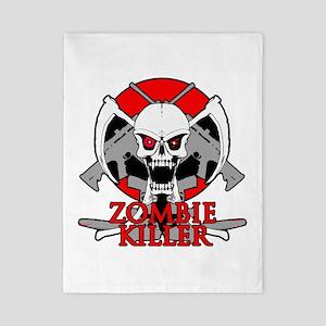 Zombie killer red Twin Duvet